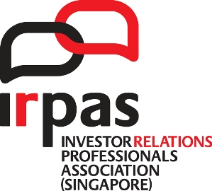 Investor Relations Professionals Association (Singapore) IRPAS logo