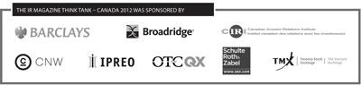 Canada think tank sponsors