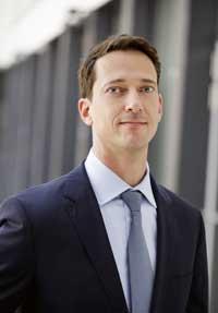 Dr Dominik Heger, head of IR at Linde Group