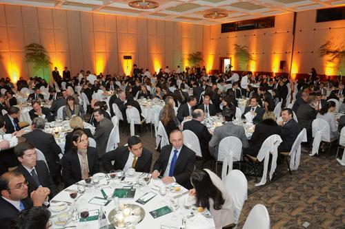 Dinner at the IR Magazine Awards – Brazil 2008