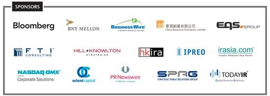 IR Magazine Greater China  Awards 2014 sponsors
