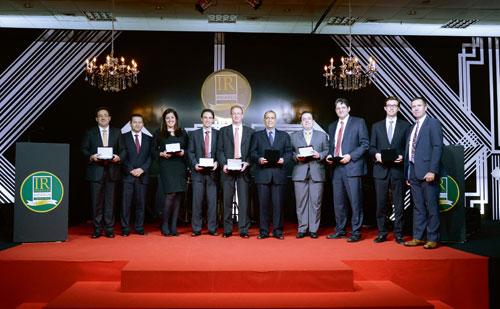Brazil awards 2014 sector winners