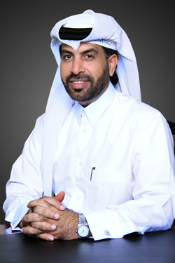 Rashid Al-Mansoori, CEO of the Qatar Stock Exchange