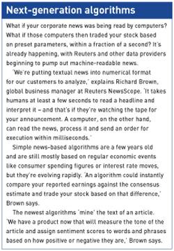 Next-generation algorithms