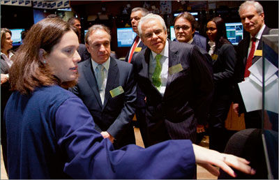 Vale Day at NYSE