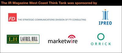 West Coast Think Tank sponsors