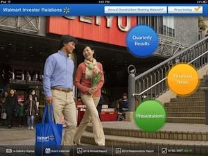 Walmart IR app