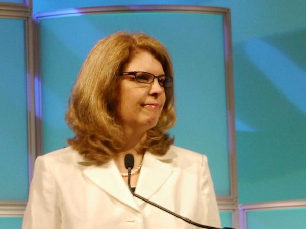 Conference co-chair Sally Curley, senior VP of IR, Cardinal Health